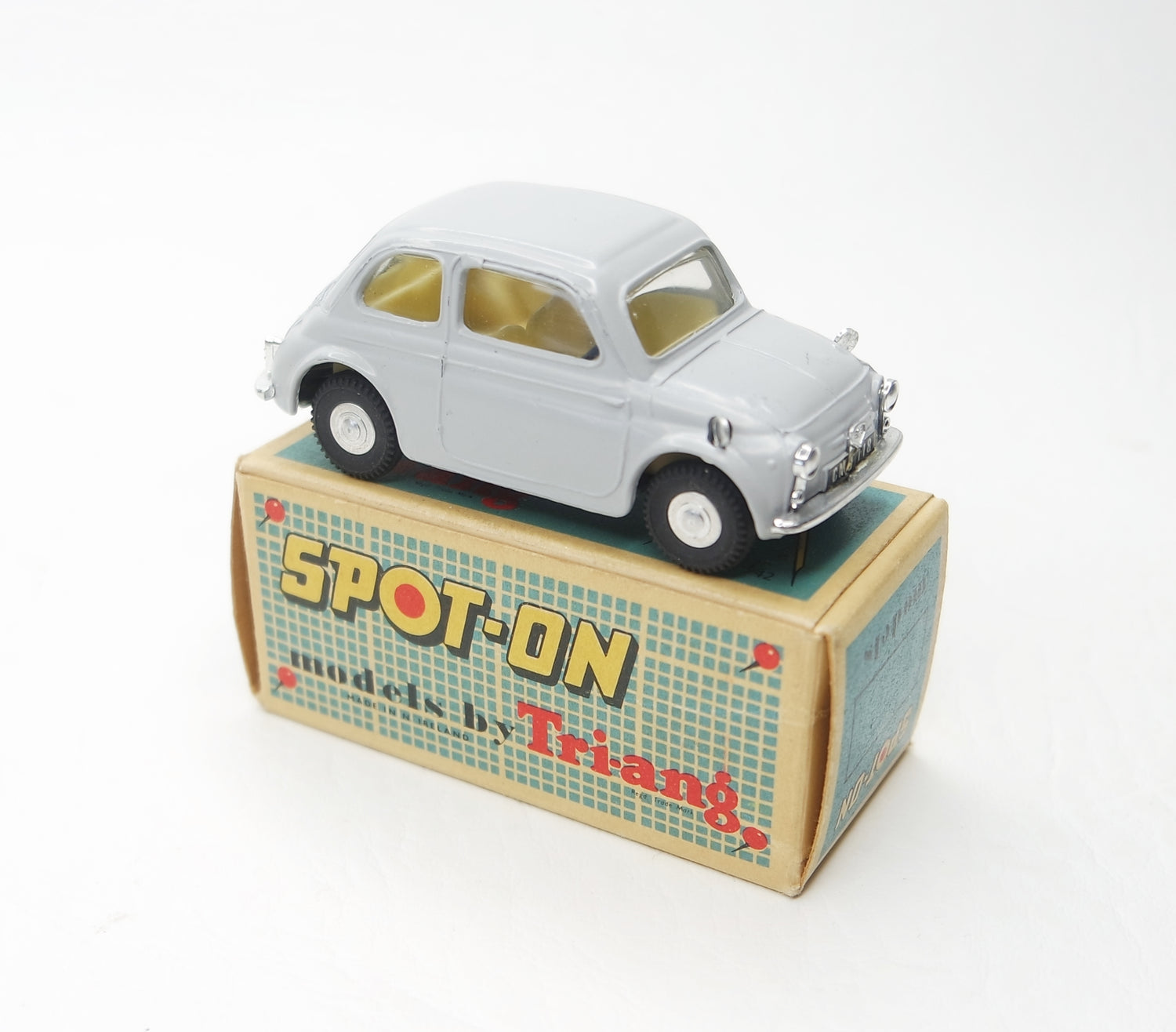 Spot-on 185 Fiat 500 Very Near Mint/Boxed