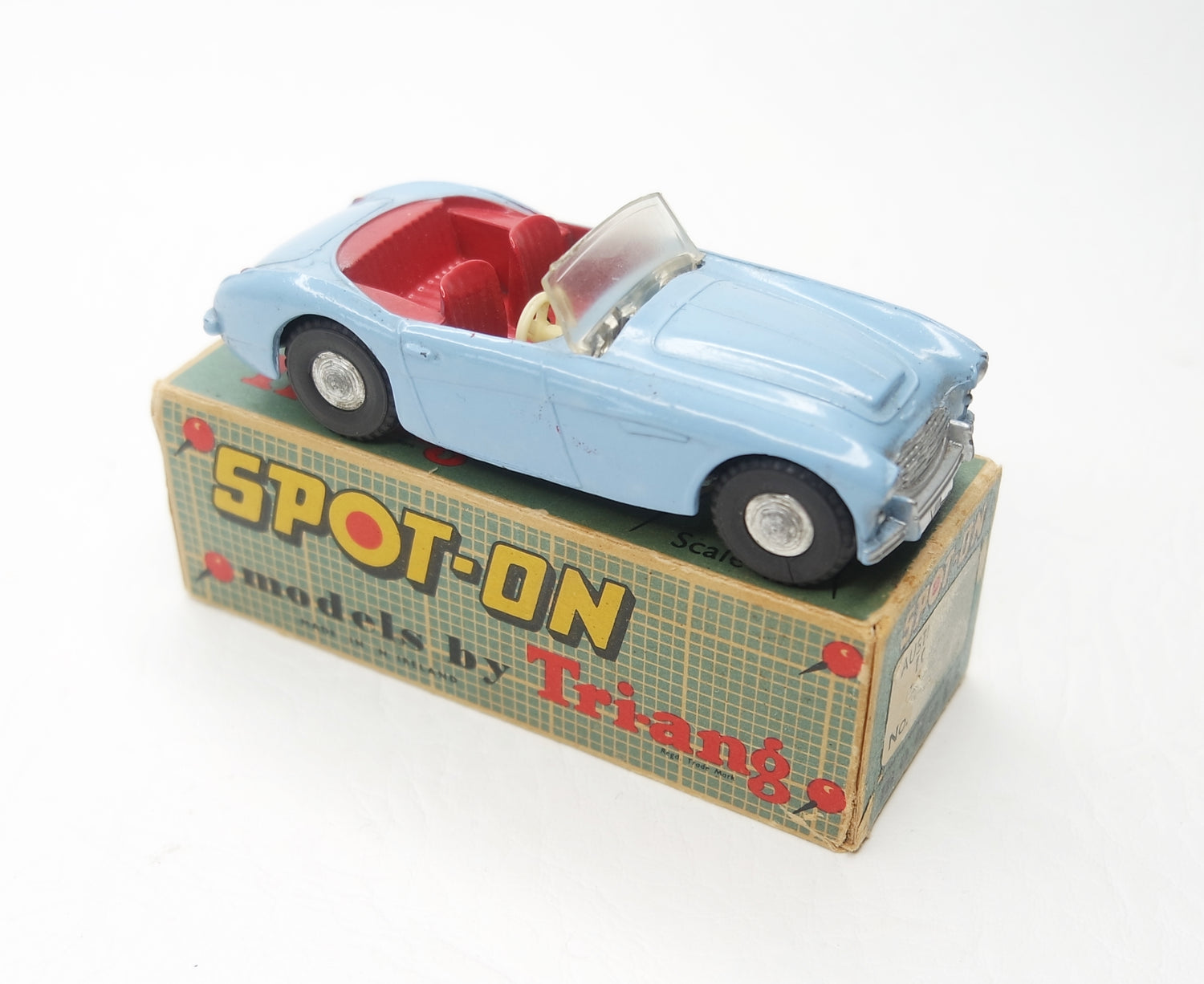 Spot-on 105 Austin Healey Very Near Mint/Boxed
