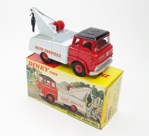 Dinky Toys 434 Bedford T.K. Crash Truck 'Auto Services' Virtually Mint/Boxed (C.C)