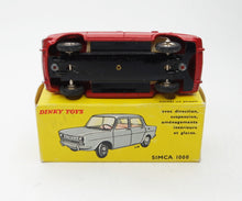 French Dinky Toys 519 Simca 1000 Virtually Mint/Boxed