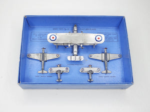 Dinky Toys Gift set 61 R.A.F Aeroplanes Near Mint/Boxed