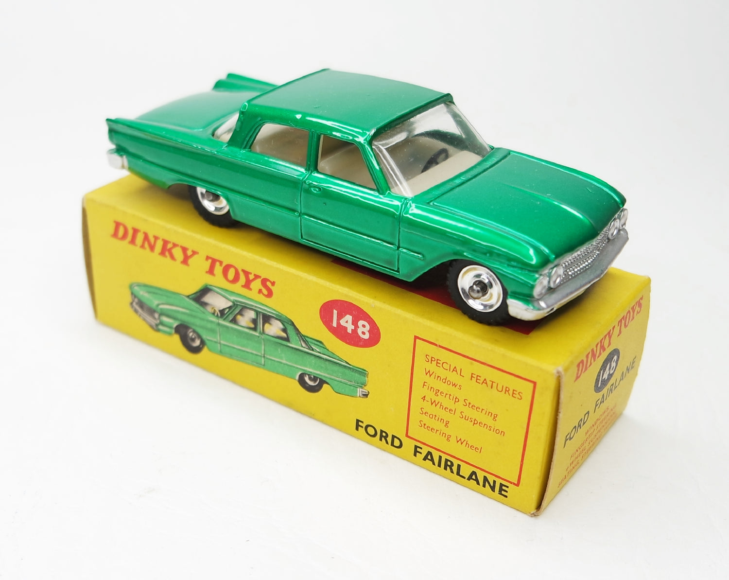 Dinky Toys 148 Ford Fairlane Virtually Mint/Boxed (C.T.C)