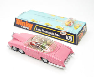 Dinky toys 100 Fab 1 Virtually Mint/Boxed 2/15