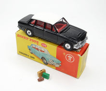 Dinky toys 135 Triumph 2000 Promotional Virtually Mint/Boxed (C.C) (Black&White)