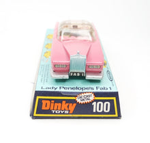 Dinky toys 100 Fab 1 Virtually Mint/Boxed 5/15