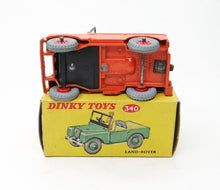 Dinky Toys 340 Land-Rover  Near Mint/Boxed