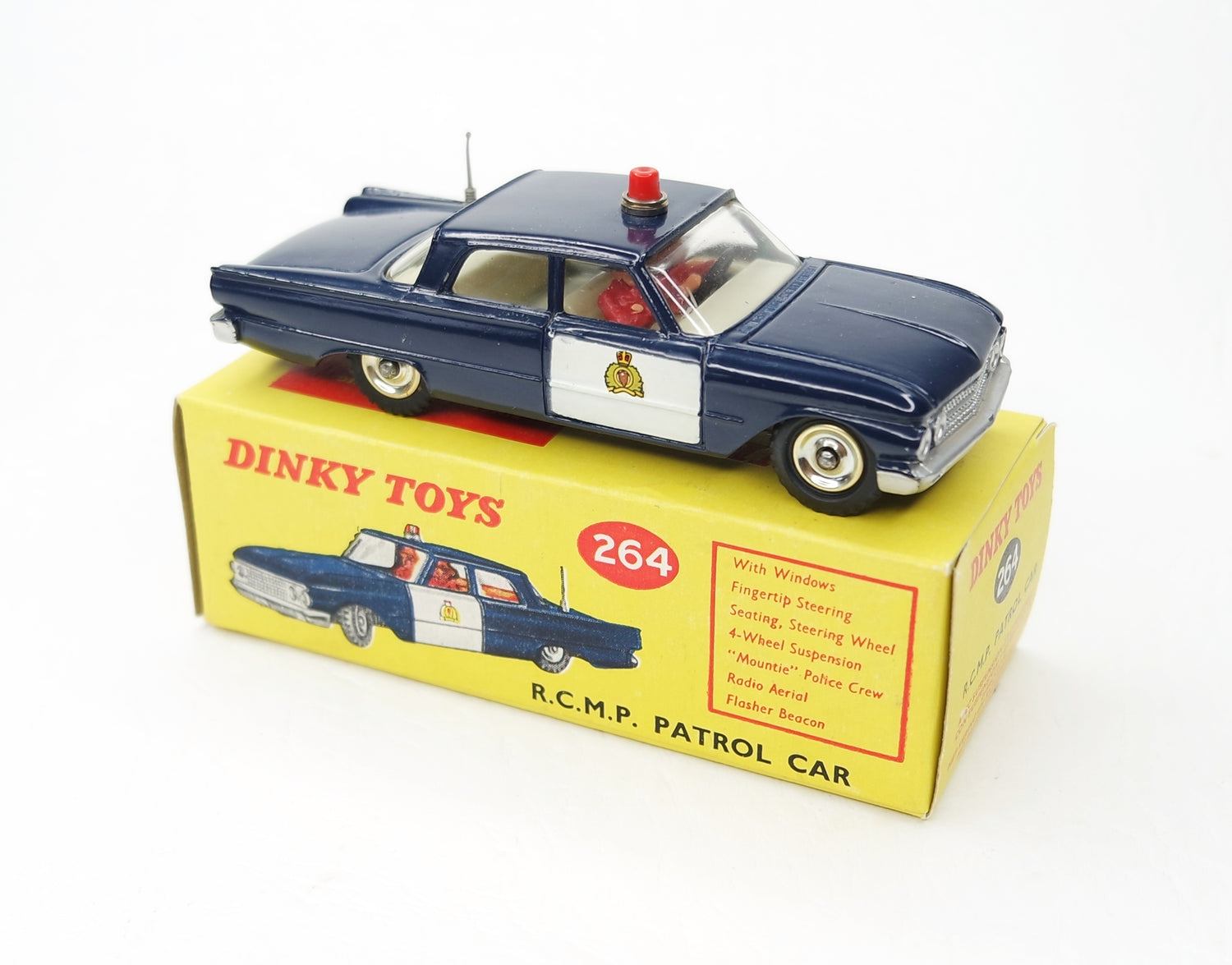 Dinky toys 264 R.C.M.P Patrol Virtually Mint/Boxed (L.C).