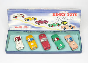 Dinky toys 149 Sports Car Gift set Very Near Mint/Boxed (C.C).