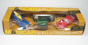 Tri-ang  Magicar 981 Shell & Chassis pack Mint/Boxed (Spot-on)