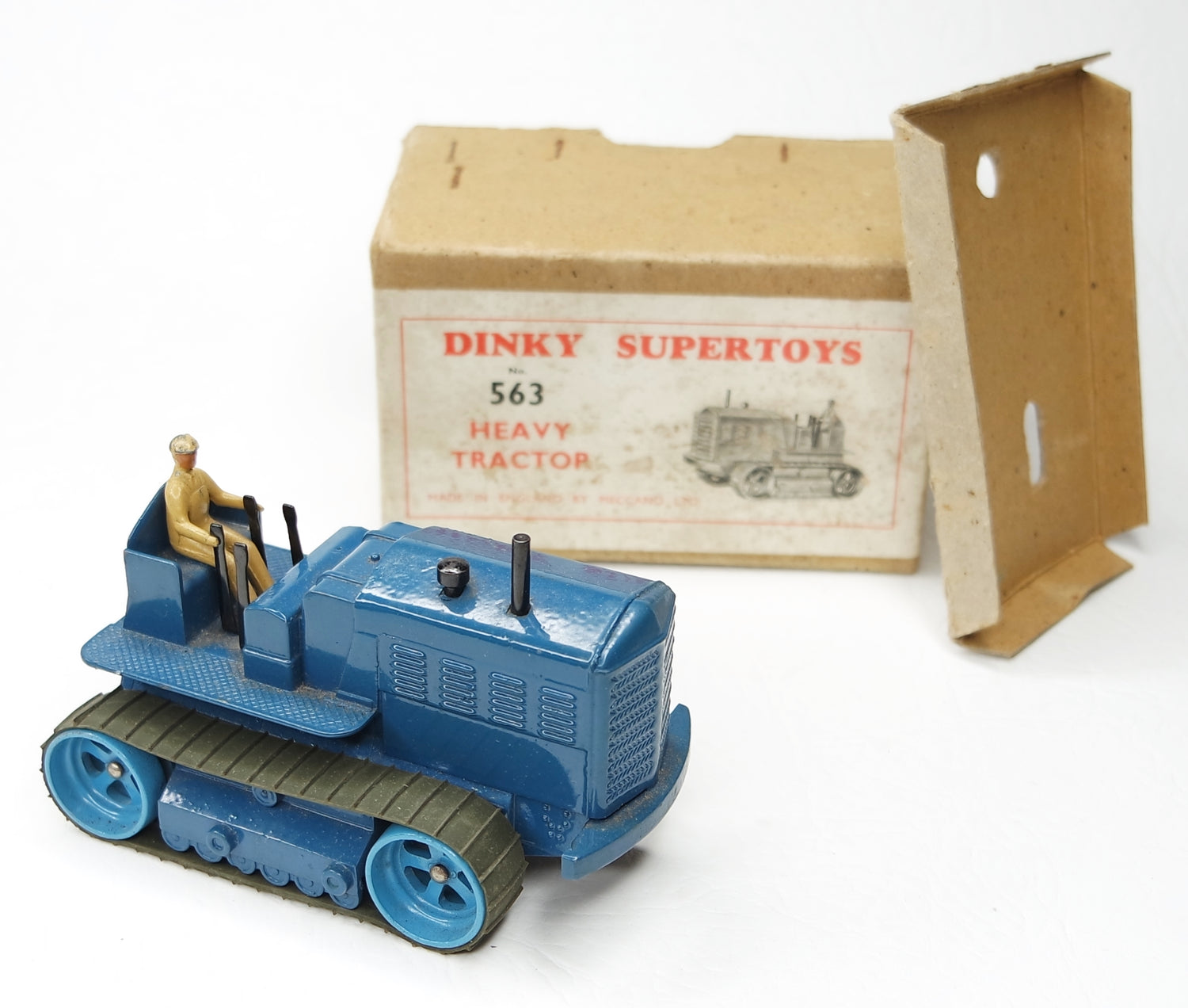 Dinky toys 563 Heavy Tractor Very Near mint/Boxed