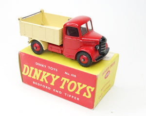 Dinky toys 410 Bedford End Tipper Very Near Mint/Boxed.