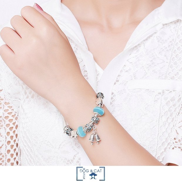 BRACELET AVEC CHAT - MIKIE - Dog & Cat Boutique