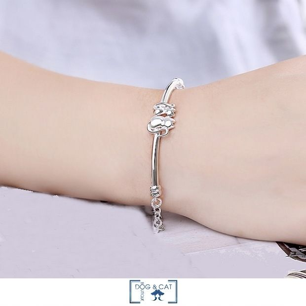 BRACELET AVEC CHAT - JAMIE - Dog & Cat Boutique