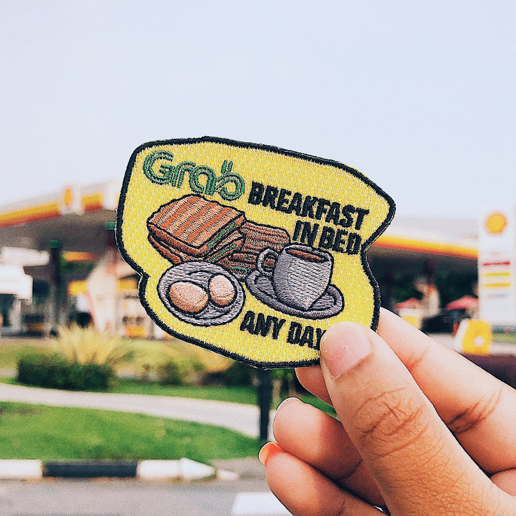 Grab x Pew Pew: Breakfast in Bed