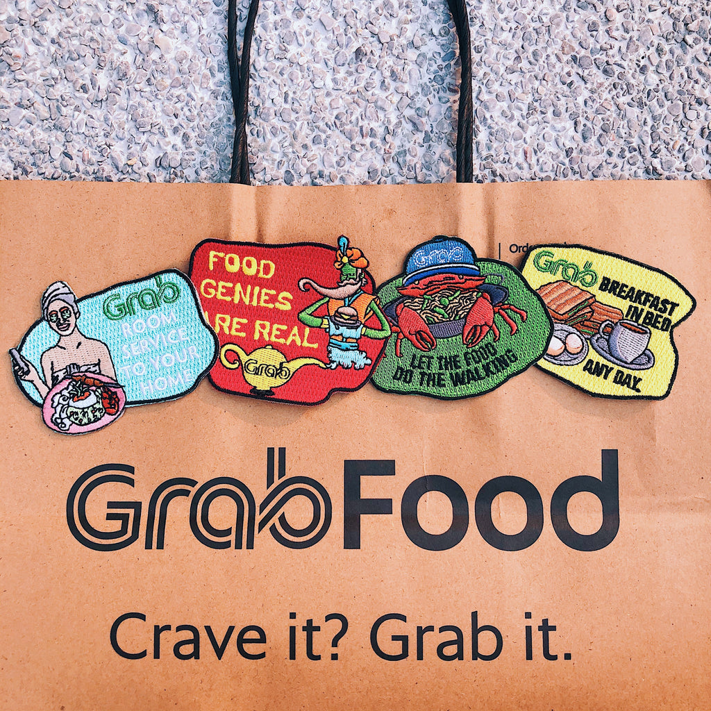 Grab x Pew Pew: Food do the walking