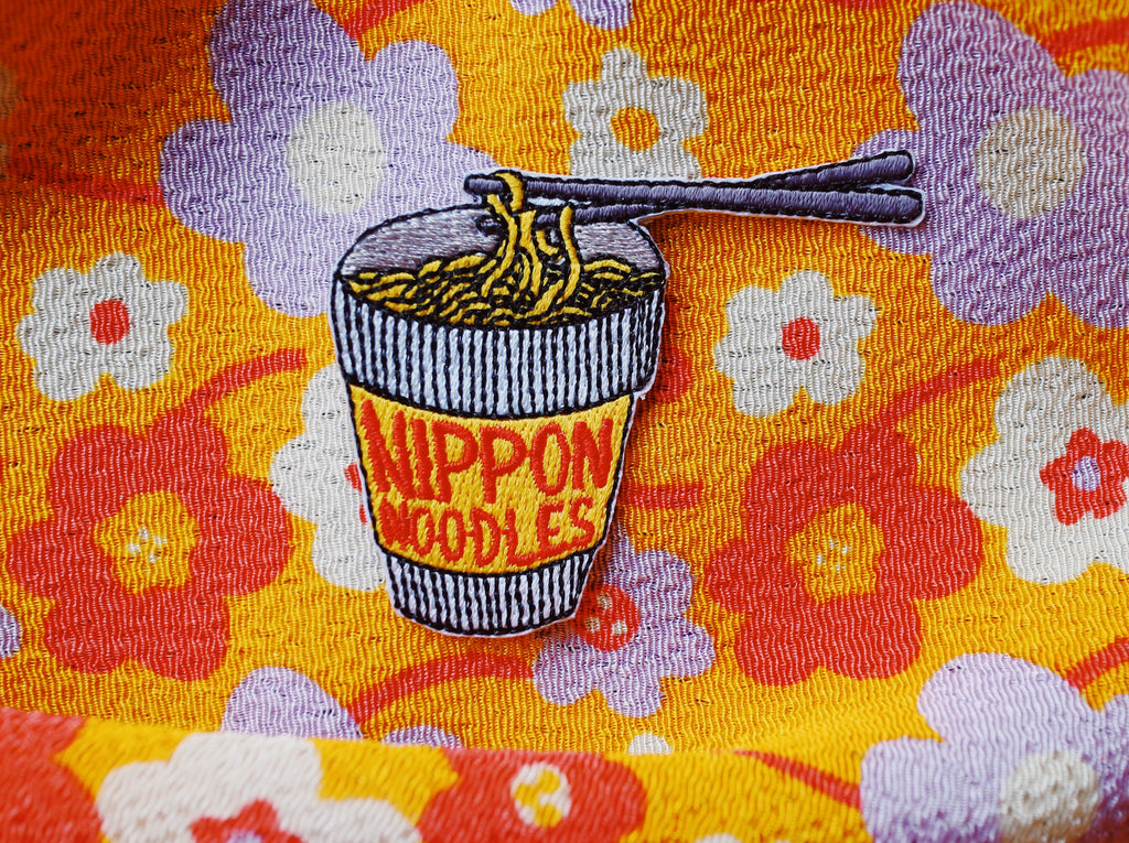 Nippon Noodles Iron On Patch