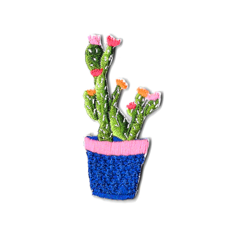 Prickly Cactus Iron On Patch