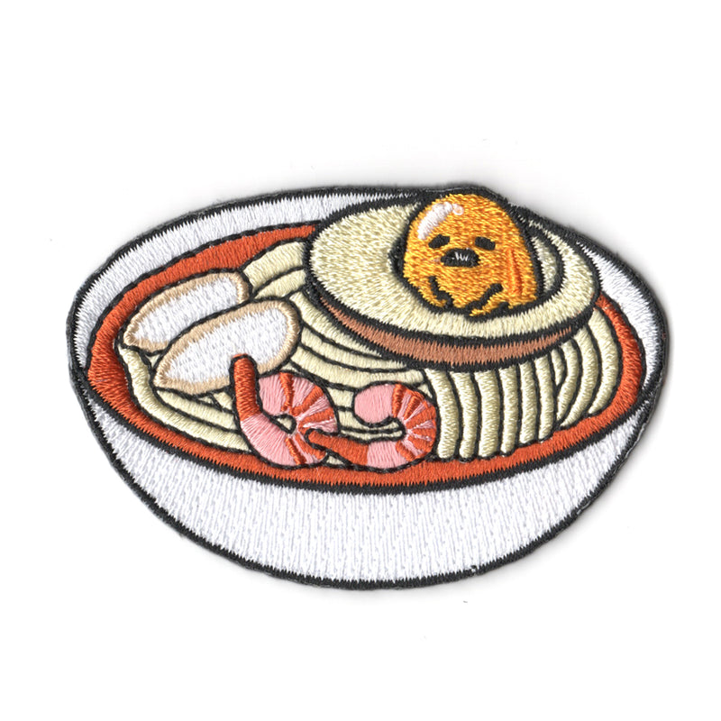 Sanrio characters x Pew Pew Patches: Gudetama Laksa