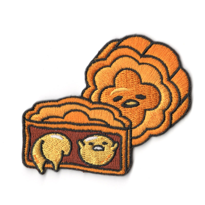 Sanrio characters x Pew Pew Patches: Gudetama Moon Cake
