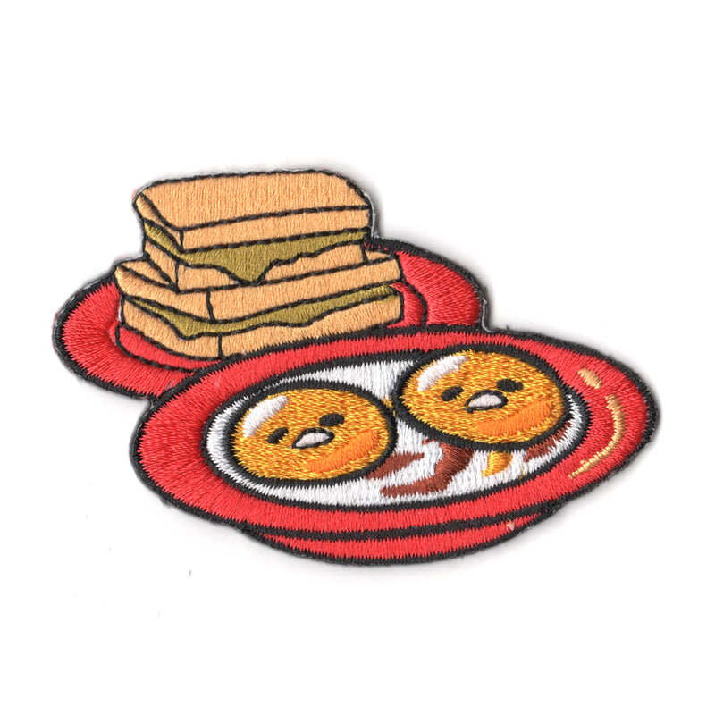 Sanrio characters x Pew Pew Patches: Gudetama Soft Boiled Eggs