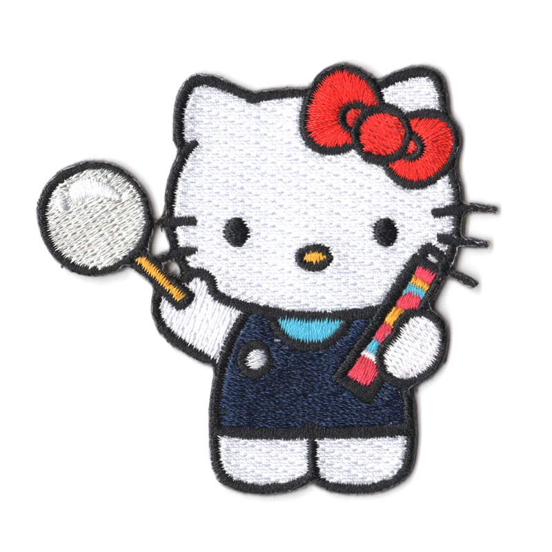 Sanrio characters x Pew Pew Patches: Hello Kitty Blows Bubble