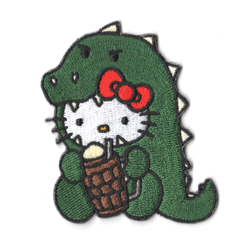 Sanrio characters x Pew Pew Patches: Hello Kitty Milo Dinosaur