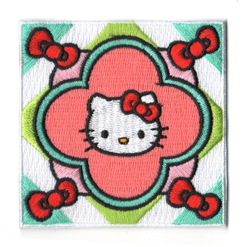 Sanrio characters x Pew Pew Patches: Hello Kitty Tile