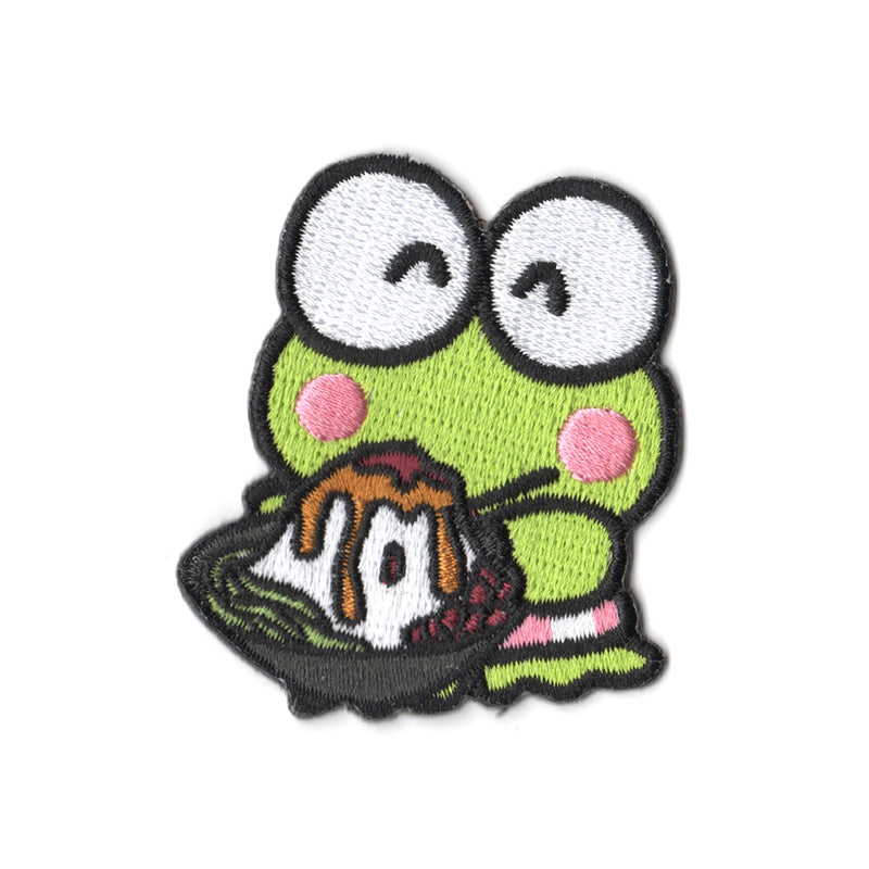 Sanrio characters x Pew Pew Patches: Keroppi Chendol