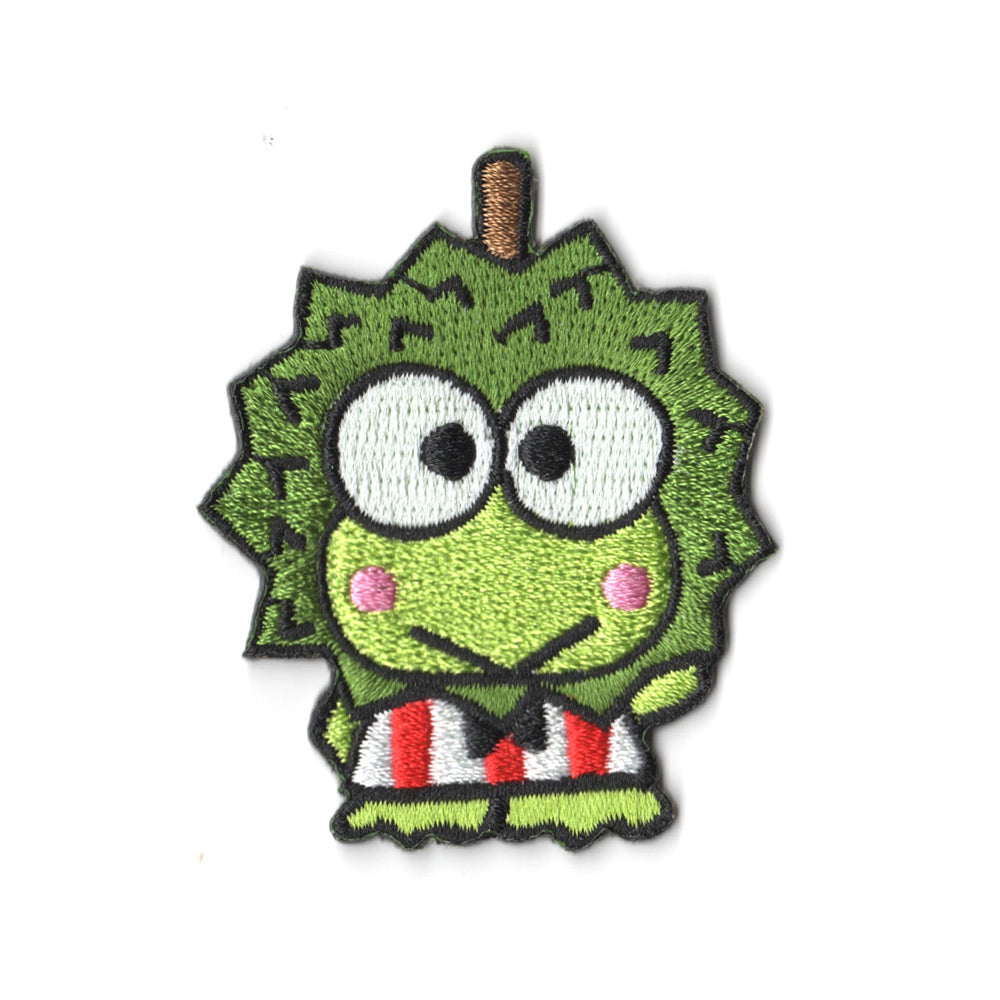 Sanrio characters x Pew Pew Patches: Keroppi Durian