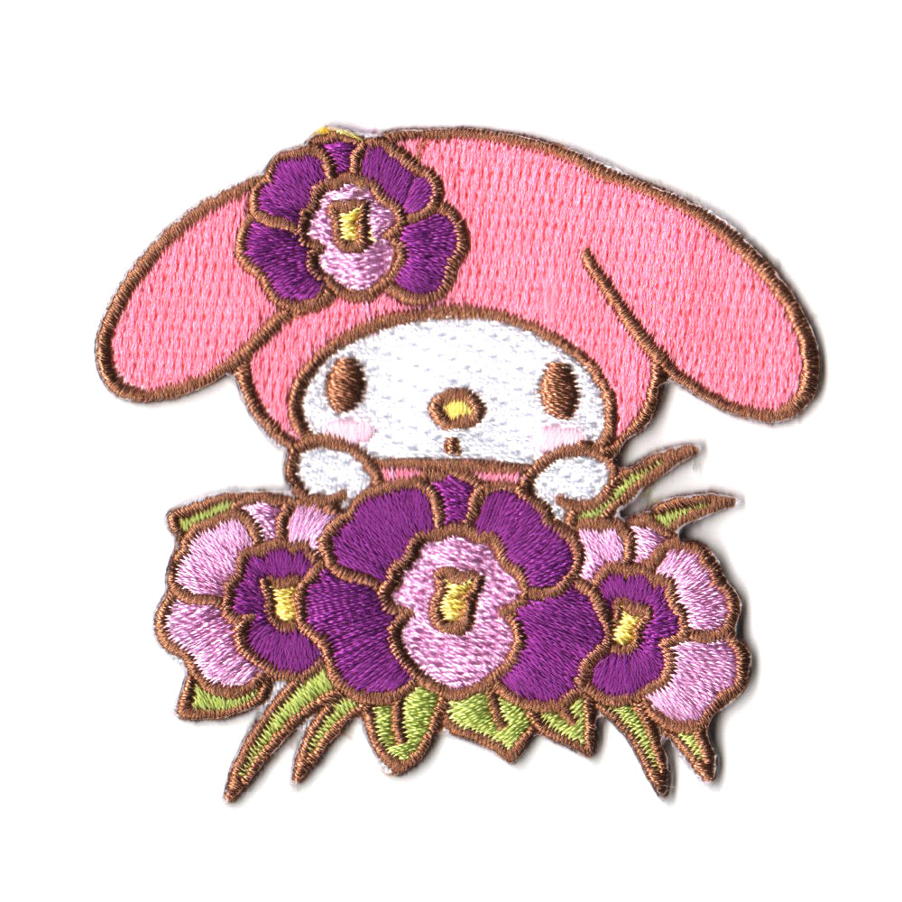 Sanrio characters x Pew Pew Patches: My Melody Orchid