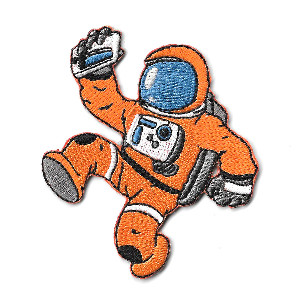 Neil the Astronaut Iron On Patch