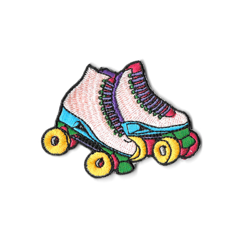 Rainbow Skates Iron On Patch