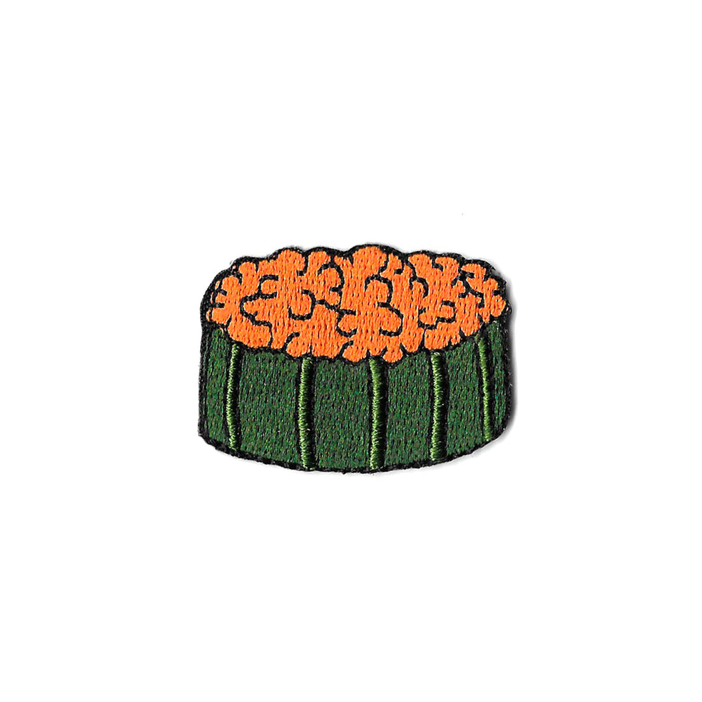 Salmon Roe Sushi Iron On Patch