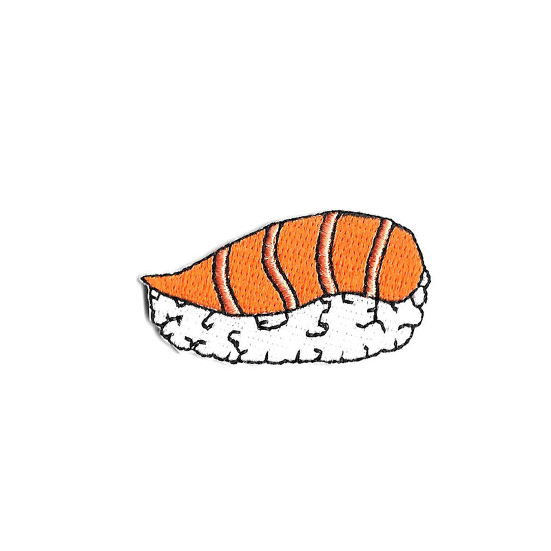 Salmon Sushi Iron On Patch