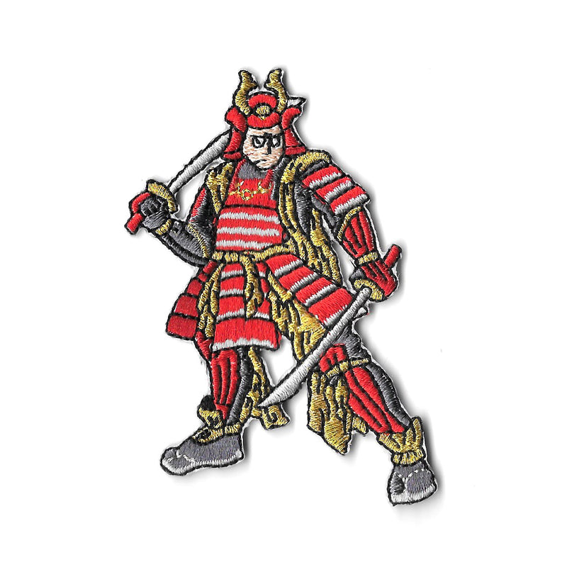 Samurai Iron On Patch