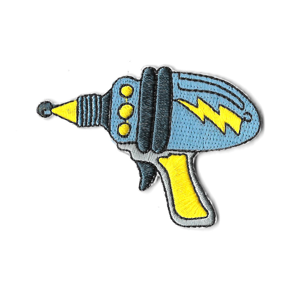 Space Ray Gun Iron On Patch