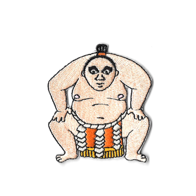 Sumo Iron On Patch
