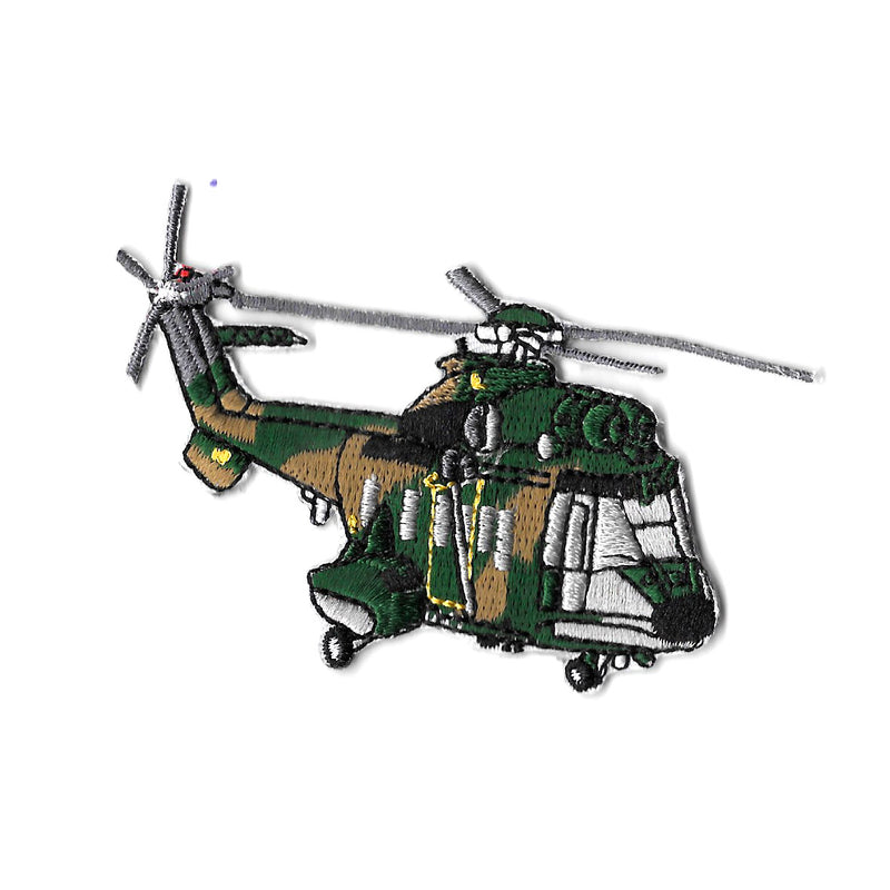 AS332 Super Puma Iron On Patch