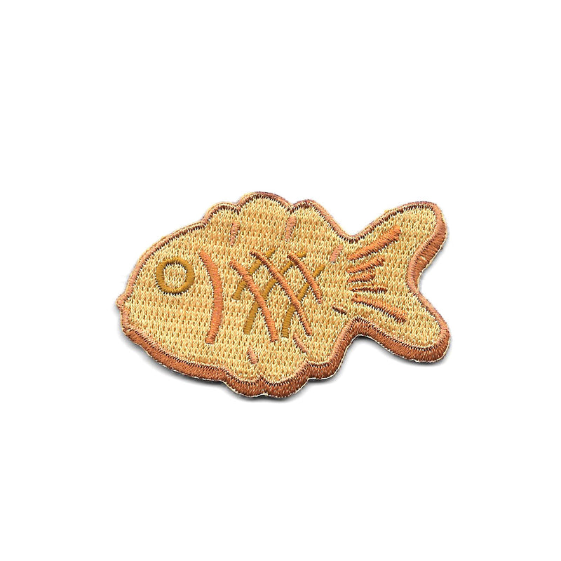 Taiyaki Iron On Patch