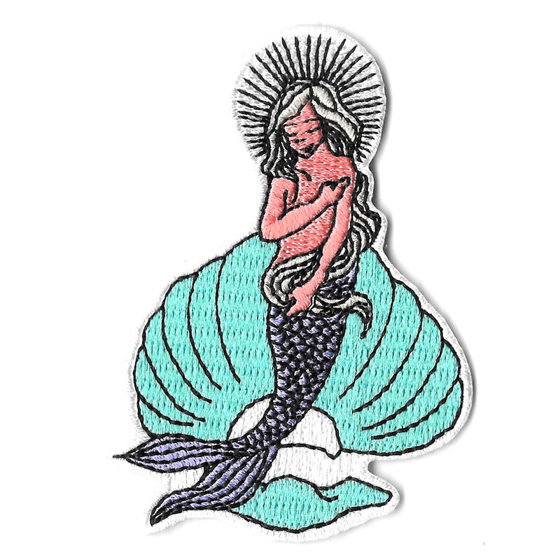 Pew Pew x The Moon: The Mermaid Iron On Patch