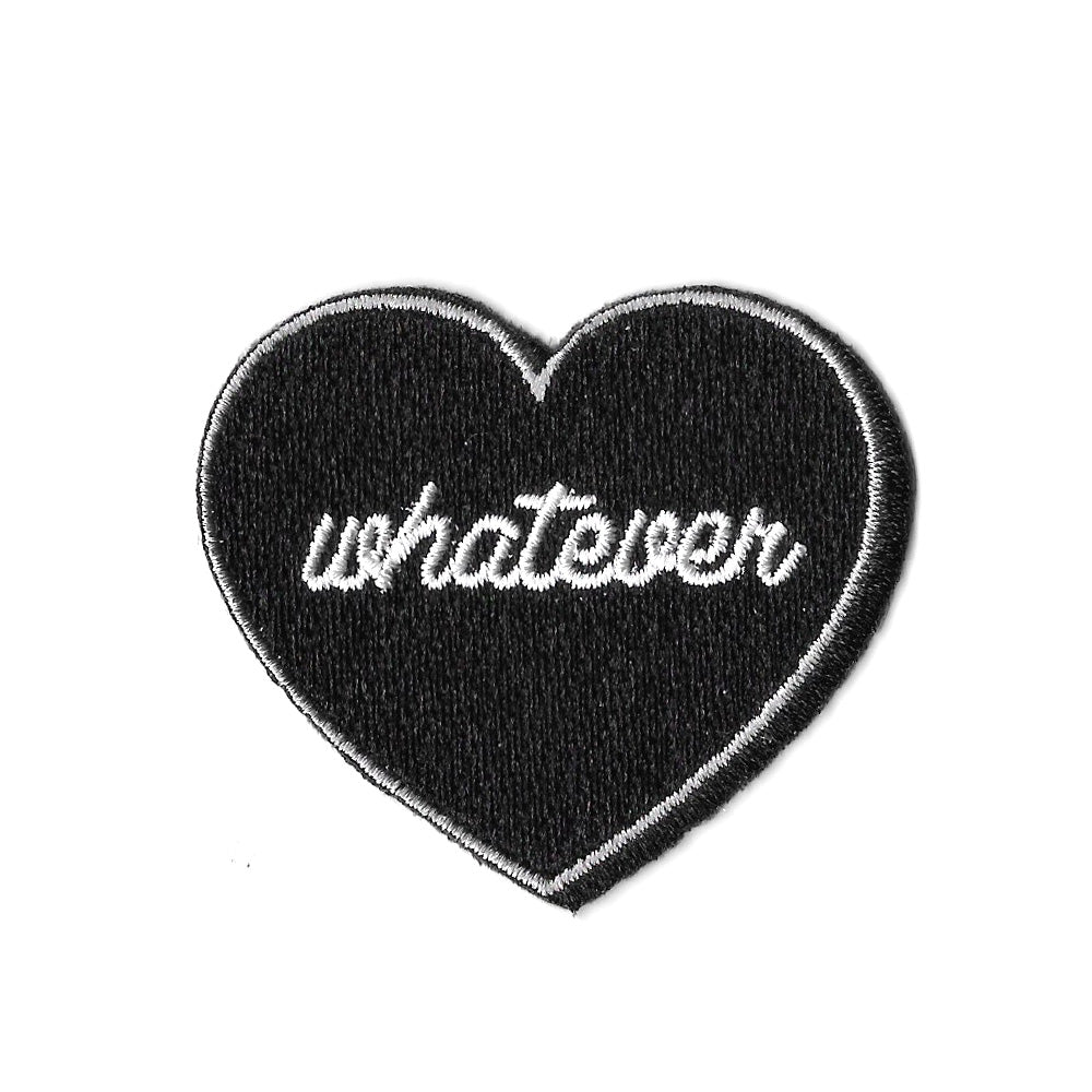 Whatever Heart Iron On Patch