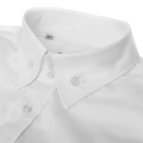 Three Button Raised Shirt with Stretch
