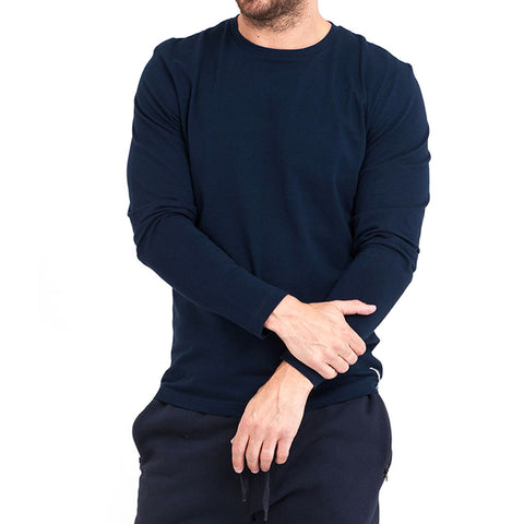 Navy Long Sleeve Crew