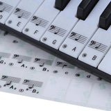 Piano and Keyboard Key Learning Stickers