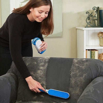 Self-Cleaning Pet Hair Brush and Lint Remover