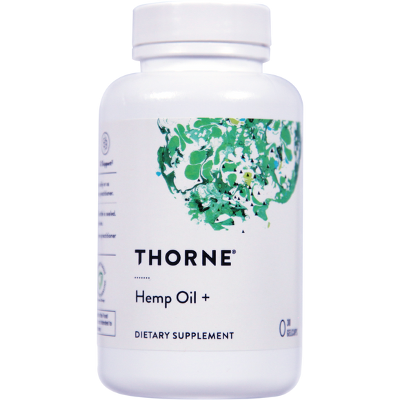 THORNE Hemp Oil +