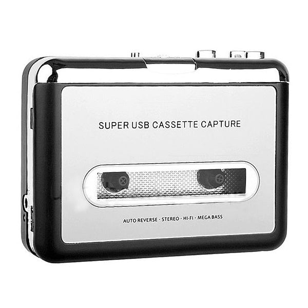 Portable cassette player