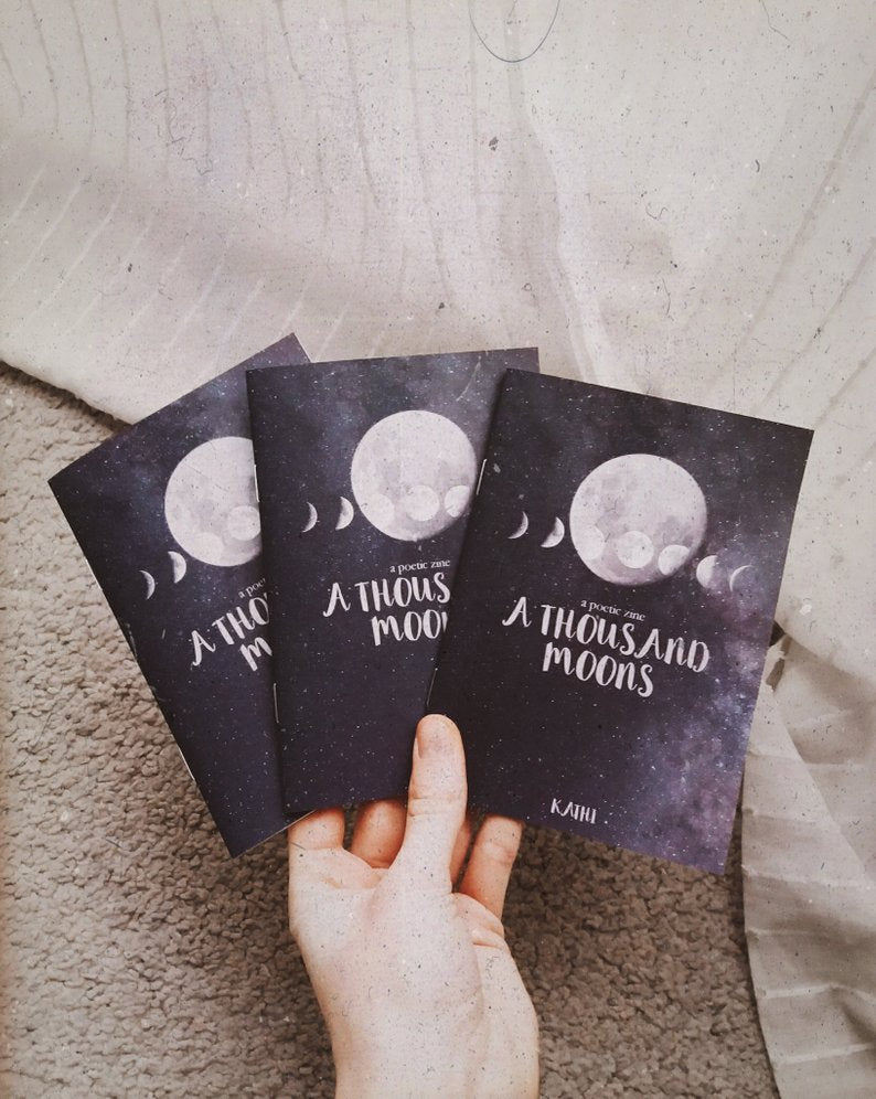 a poetic zine A Thousand Moons(Zine)