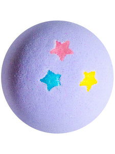 Lullabomb bath bomb for kids with lavender essential oil