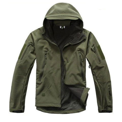 Army Green - Shark Skin Soft Shell